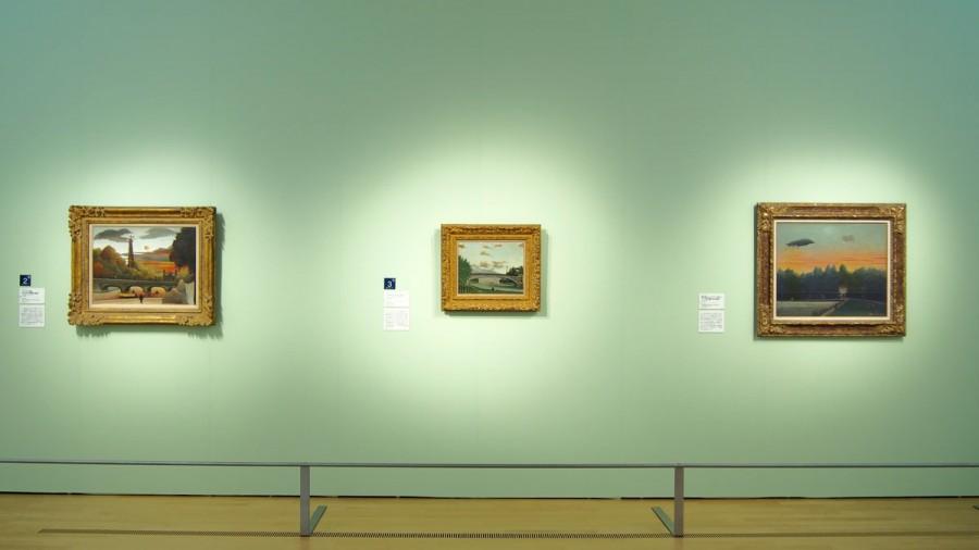 ポーラ美術館 ルソー、フジタ、写真家アジェのパリ ー 境界線への視線