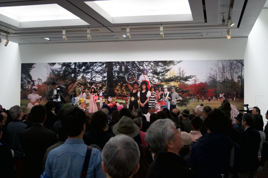 篠山紀信 写真力 横浜美術館