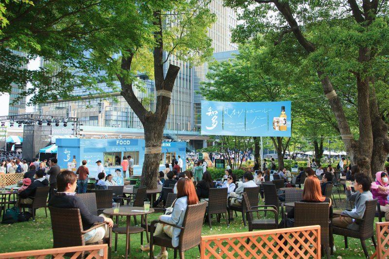 知多,サントリー, 風香るハイボール ミッドパークカフェ,東京ミッドタウン,ゴールデンウイーク,おでかけ,六本木