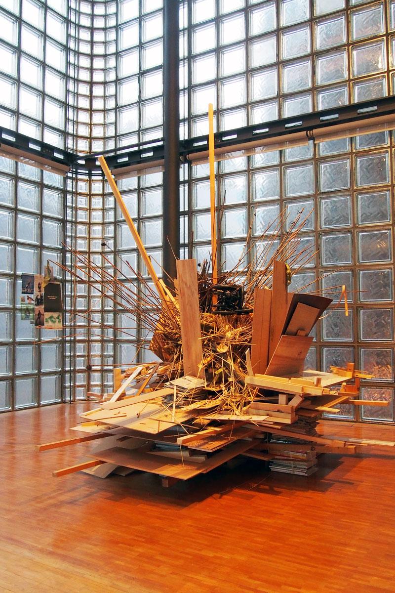アブラハム・クルズヴィエイガス展「水の三部作 2」 エルメス ギャラリー 銀座