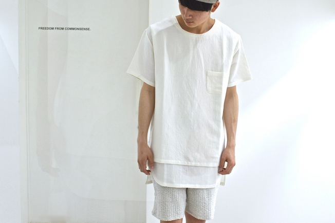 THEE___LINEN_Tee__WHITE__-_FREEDOM_FROM_COMMONSENSE_ 2