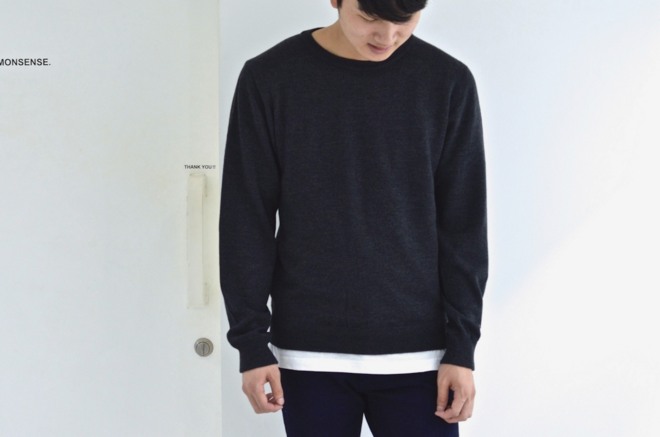 niuhans___Crew_neck_Sweater__D_GRAY__-_FREEDOM_FROM_COMMONSENSE_ 3