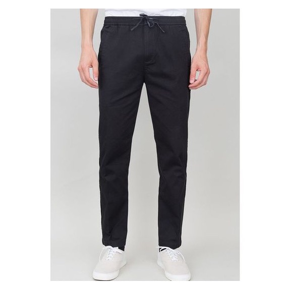 Drawcord_Trousers Twill_Black___Folk_吉祥寺のセレクトショップAQUE 「PRODUCTAINMENT」をテーマにしたセレクトショップです。 ITEM DETAILS