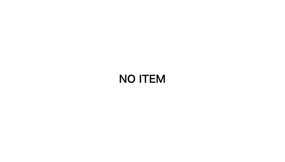 no item