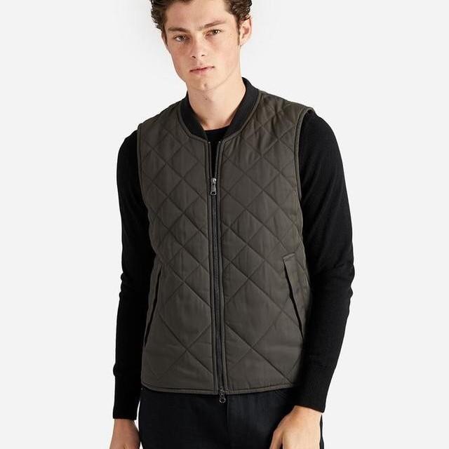 ブルゾン quited vest