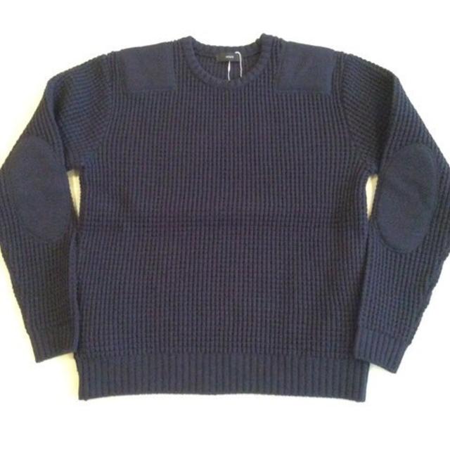 ホルターネック military knit